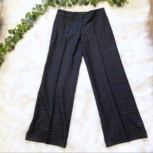 Burberry Classic Blue Signature Plaid Dress Pants